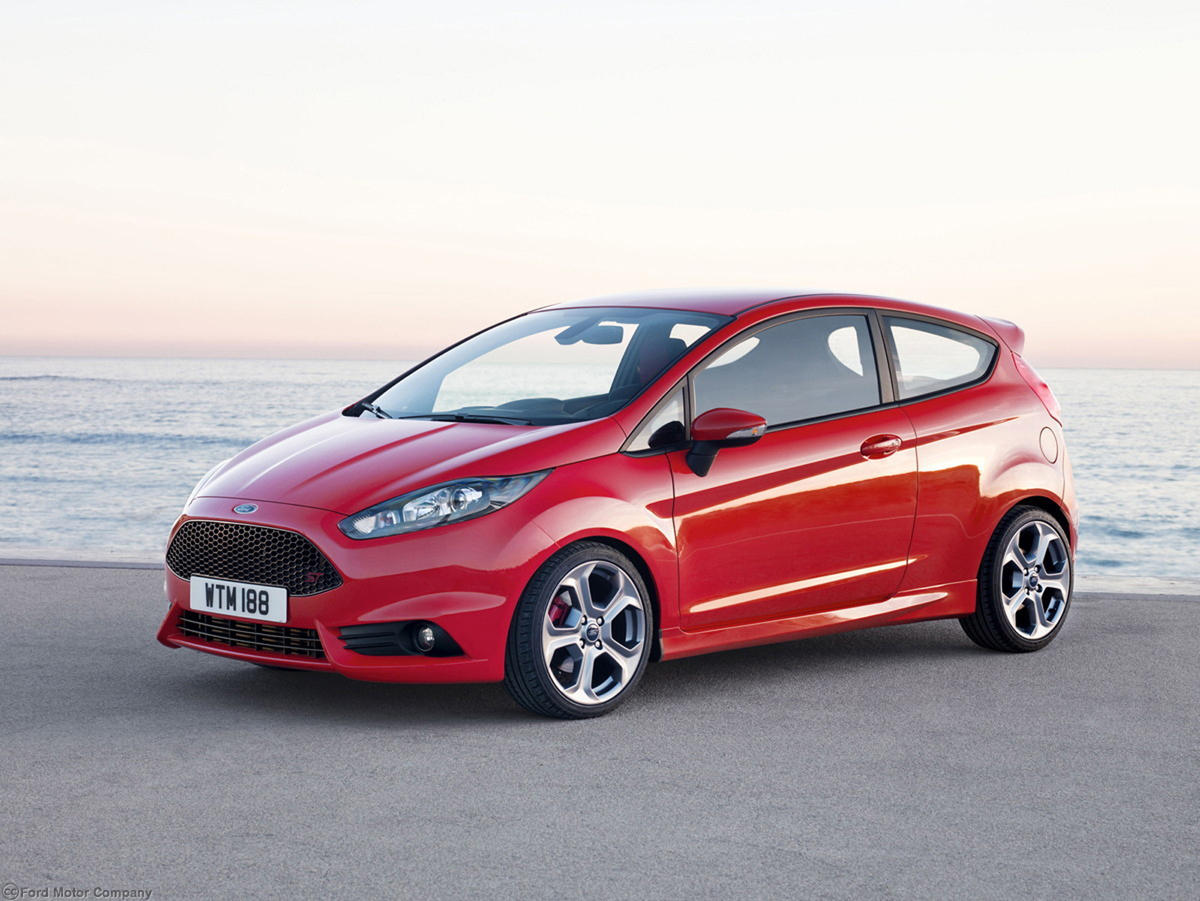 Ford Fiesta ST 2013. Ante todo, diversi�n
