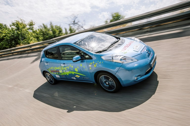 Un Nissan Leaf con un 75% más de autonomía… desarrollado en su tiempo libre