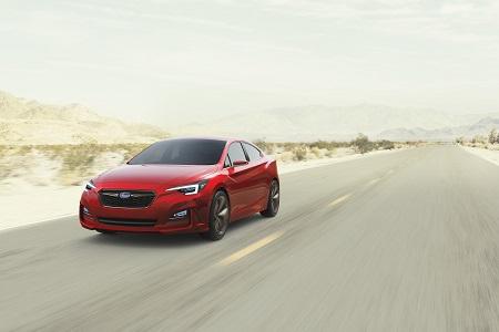 Subaru Impreza Sedan Concept, un primer adelanto desde Los Ángeles