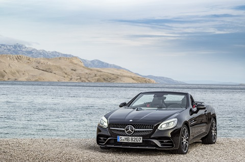 Mercedes SLC, el relevo natural del SLK