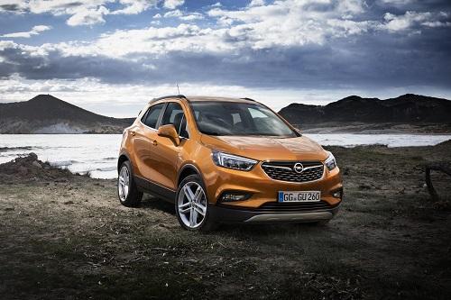 Opel Mokka X, llega la actualización del SUV (Salón Ginebra 2016)