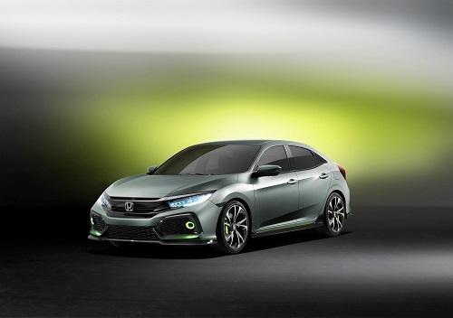 Honda Civic 5 puertas prototype, acercándonos a la próxima generación (Salón Ginebra 2016)