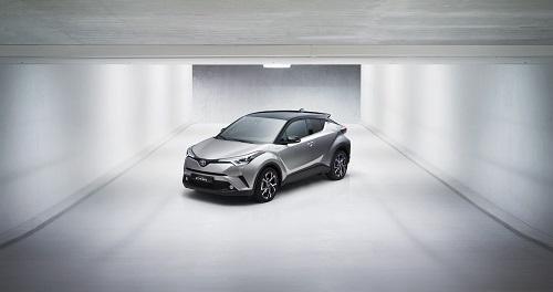 Toyota C-HR: crossover, compacto e ¡híbrido! (Salón Ginebra 2016)
