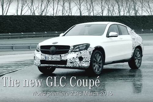 Mercedes-Benz GLC Coupé, una nueva estrella más brillará en Nueva York