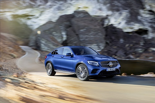 Oficial: Mercedes-Benz GLC Coupé. ¡Tiembla BMW X4!