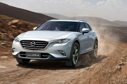 Mazda CX-4, el SUV Coupé que por el momento solo verán en China
