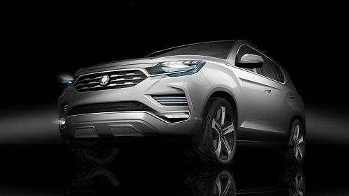 Ssangyong LIV-2 SUV Concept, más cerca de un nuevo todocamino