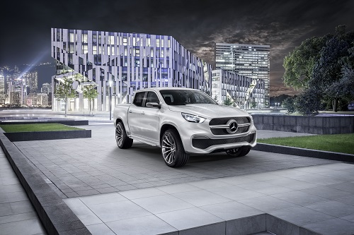 Mercedes-Benz X-Class Concept, un nuevo mundo para la estrella