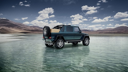 Mercedes-Maybach G650 Landaulet, el debut de Maybach en el mundo del todoterreno
