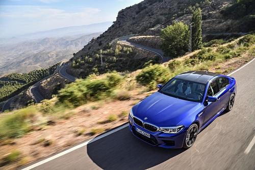 BMW M5 2018: 600 CV de potencia, y ahora s�, tracci�n M xDrive