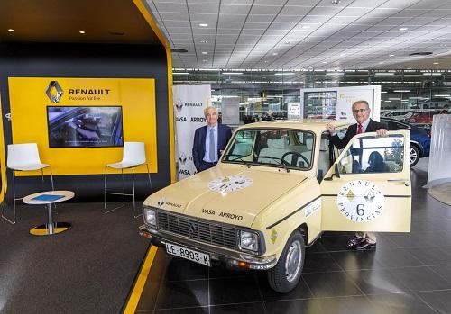 Renault 6 provincias: más de 600 km a bordo del Renault 6 para celebrar su 50 aniversario