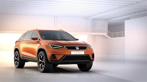 ¿SEAT Tecta?. Así se llamaría el SUV de SEAT que debutará en Ginebra.