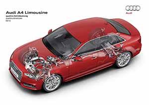 Audi A4 2016; ataque de base