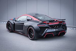Vayu GTR Coupé; vientos de McLaren (Salón Ginebra 2016)