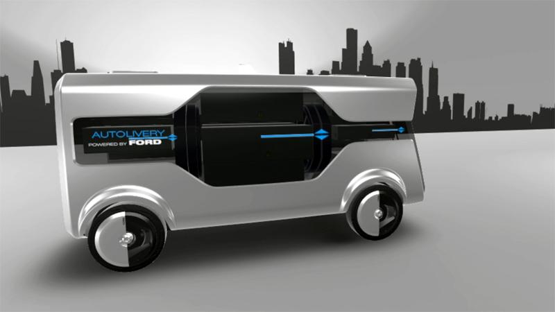 Ford Autolivery; el innovador concepto para entrega de mercancías en las ciudades