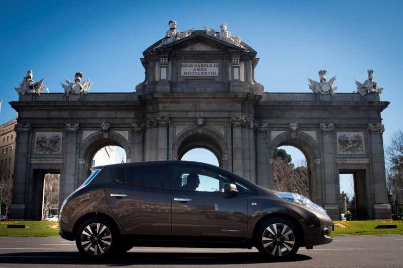 Nissan completa la segunda edición del Zero Emission Tour