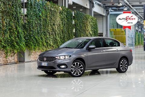El nuevo Fiat Tipo se hace con el galardón Autobest 2016