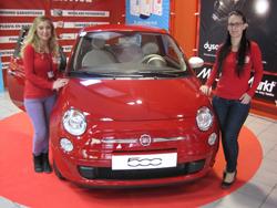Fiat 500 y Media Markt