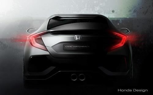 Honda presentará en Ginebra un prototipo que nos acerca al próximo Civic (Salón Ginebra 2016)