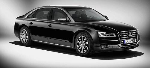 Audi A8 Security, el nuevo coche oficial de Mariano Rajoy