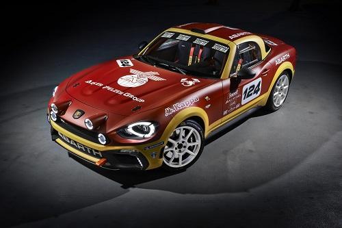 Abarth 124 Rally, de vuelta al mundo de la competición (Salón Ginebra 2016)