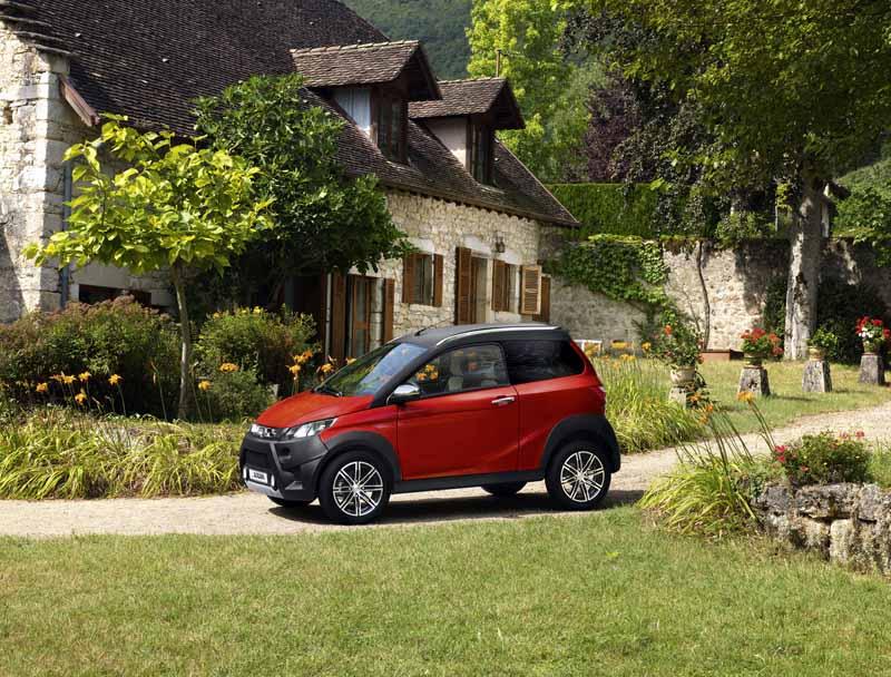 Aixam, una año más líder de ventas de coches sin carnet en España