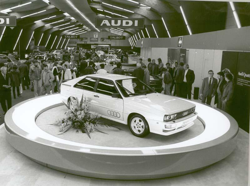 40 aniversario de la tracción quattro de Audi
