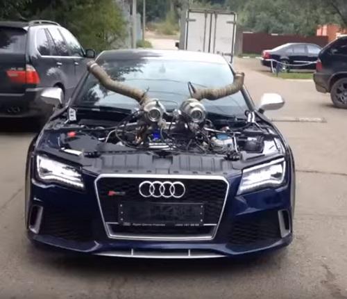 Total Race logra potenciar este Audi RS7 por encima de los 1200 CV