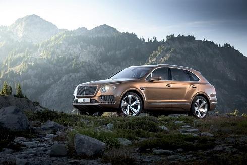 Bentley Bentayga Coupé, la firma británica trabaja ya en la variante del SUV