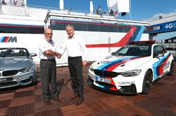 BMW y Dorna continuarán juntos hasta 2020
