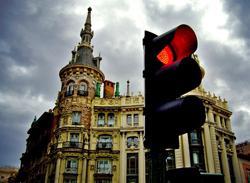 Multas ilegales a conductores en Madrid