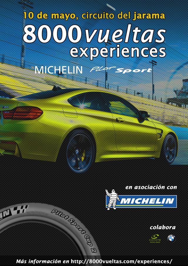 Pilota en circuito en la Michelin Pilot Sport Experiences
