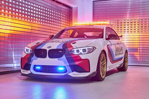 Este especial BMW M2 será el safety car de Moto GP esta temporada