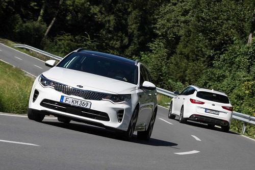 Kia Optima GT, el Kia más potente comercializado en Europa hasta la fecha
