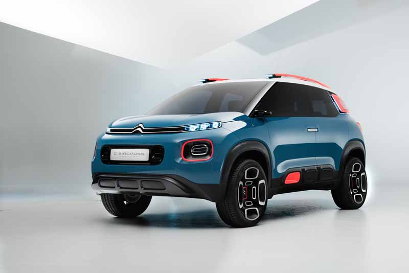 Citroën C-Aircross Concept 2017, primer contacto