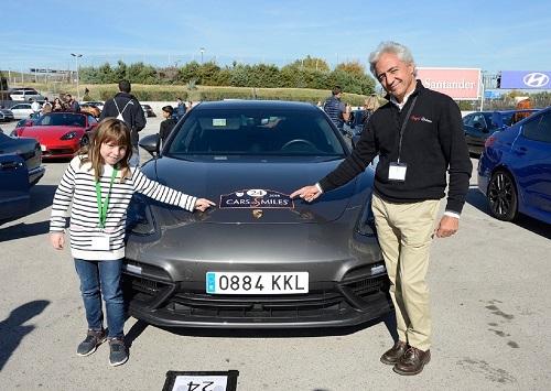 Cars for smiles, sonrisas sobre ruedas para los niños y adolescentes con enfermedades graves y/o crónicas