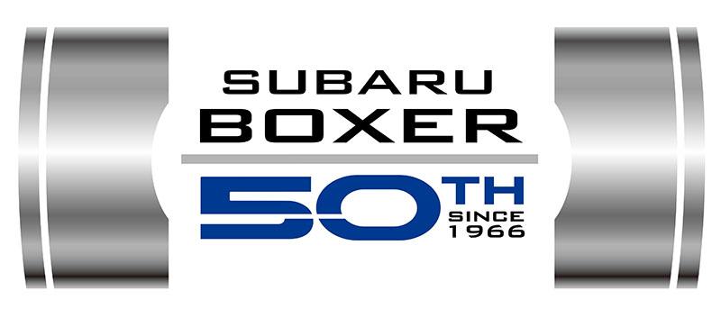 50 años del motor boxer de Subaru