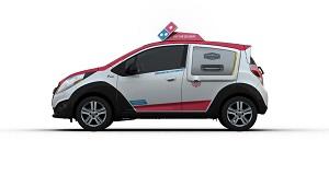 Domino's presenta el primer vehículo diseñado específicamente para repartir pizzas
