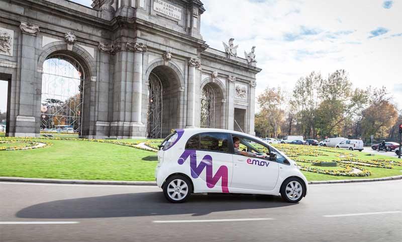 Emov, nuevo servicio de carsharing con vehículos eléctricos  del Grupo PSA