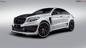Mercedes Benz GLE sobredimensionado