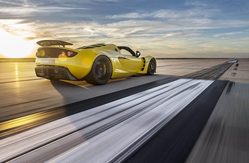 Hennessey Venom GT Spyder, el descapotable más rápido del mundo