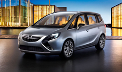 Novedades del Opel Zafira Tourer