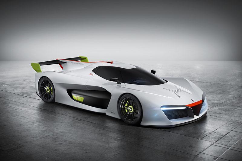 Pininfarina H2 Speed, proyecto de superdeportivo a hidrógeno (Salón Ginebra 2016)