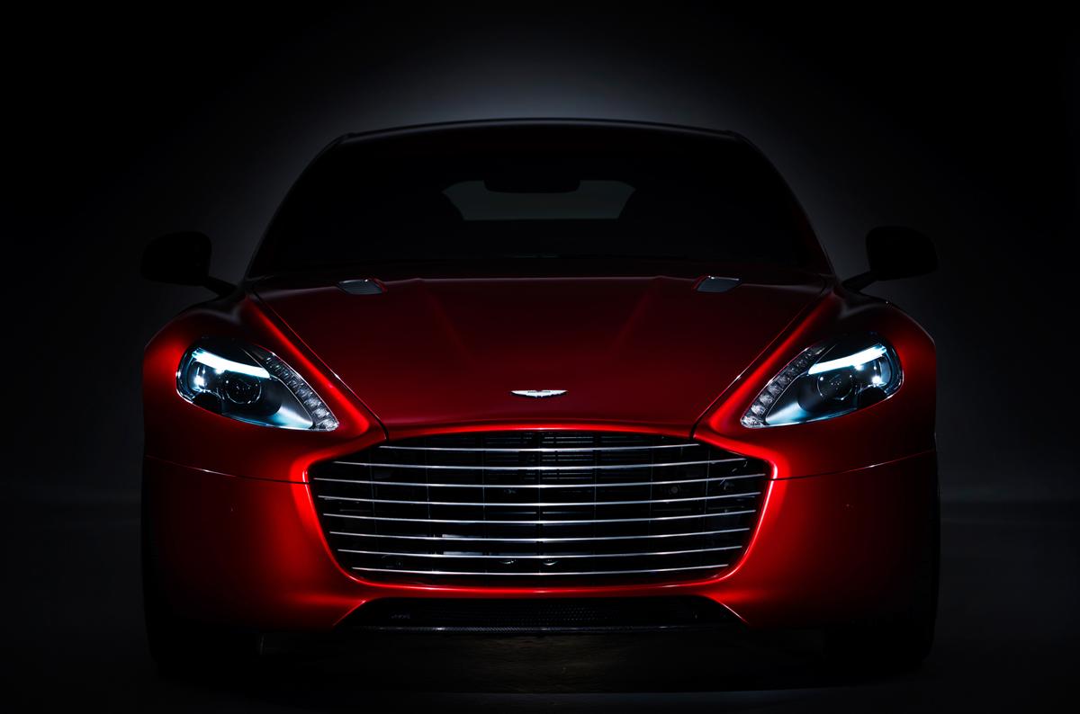 La belleza clásica del Aston Martin Rapide S