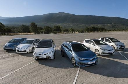 La gama híbrida de Toyota España sobrepasa las 53.000 unidades comercializadas