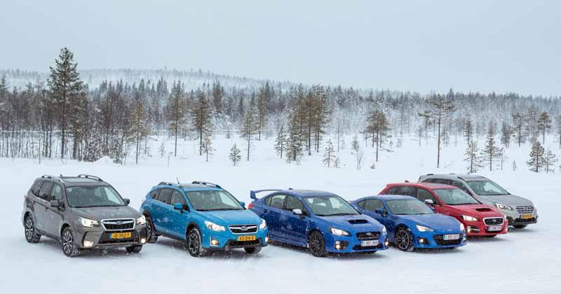 Subaru supera la barrera del mill�n de unidades vendidas en un solo a�o