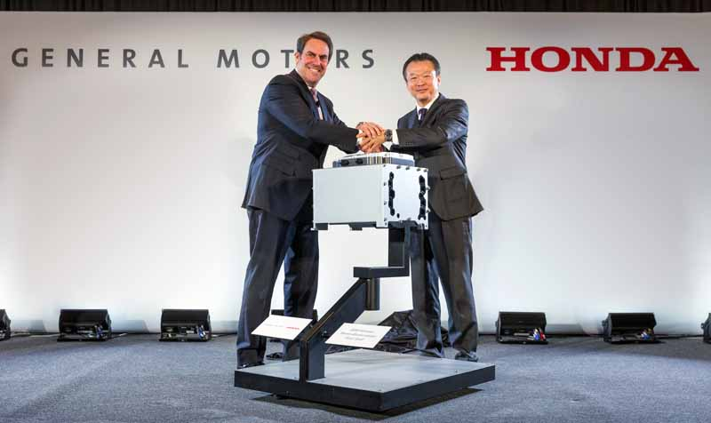 GM y Honda llevan a la producción en serie su colaboración en pila de combustible