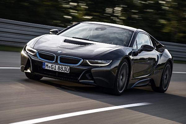 Presentación de BMW en el salón del automóvil de Detroit.