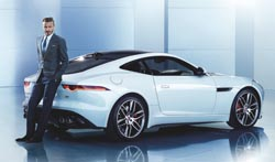 David Beckham, embajador de Jaguar