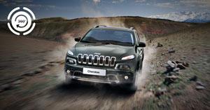 Jeep muestra en Facebook una prueba de conducción todoterreno en 360°